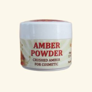 Genuine amber powder 5g